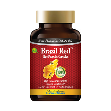 Brazil Red™ - Bee Propolis Capsules