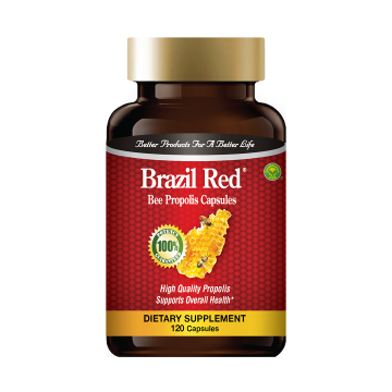 Brazil Red - Bee Propolis Capsules