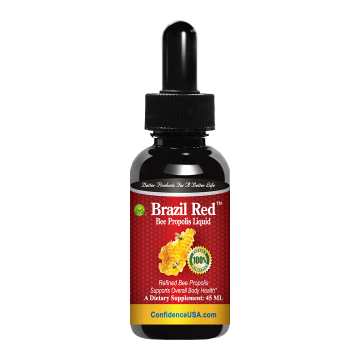 Brazil Red - Bee Propolis Liquid : Buy 1 Box, Get 1 Bottle Bee Propolis Capsules FREE!