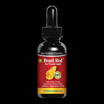 Brazil Red™ - Bee Propolis Liquid : Buy 1 Box, Get 1 Bottle Bee Propolis Capsules FREE!