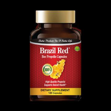 """""""巴西红""""蜂胶胶囊"""