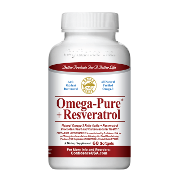 信心欧米伽-3脂肪酸 + 白藜芦醇