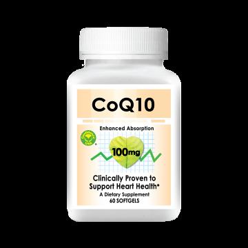 信心天然辅酶Q10(100mg)