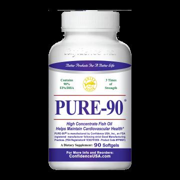 Pure-90超高浓度深海鱼油